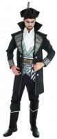 Kostüm Schwarzer Pirat XL
