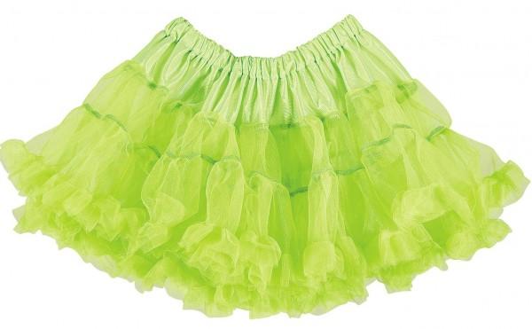 Tutu Petticoat grün neon one Size