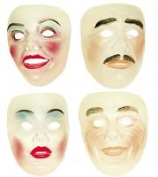 Transparente Gesichtsmaske