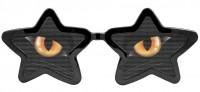 Sternbrille Katzenaugen XXL