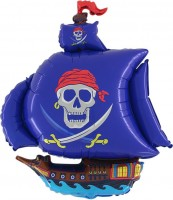 Piratenschiff Ballon