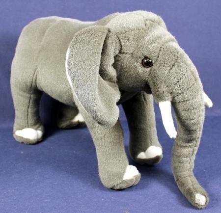 Plüsch Elefant grau 45cm