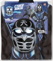 Kinderkostüm Cyber Ninja 164cm