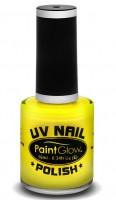 Gelber UV Nagellack