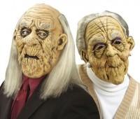 Maske Grosseltern Oma und Opa
