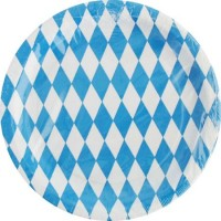 Pappteller Bayern
