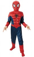 Kinderkostüm Spider-Man Deluxe 7 bis 8 Jahre