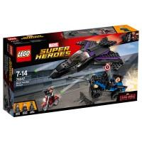 LEGO SUPER HEROES Jagd auf Black Panther
