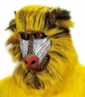 Affenmaske Pavian Babuino