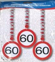 Rotorspiralen Verkehrsschild 60 Jahre