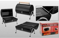 Koffergrill Cylinder Metall