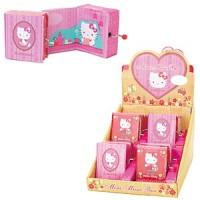Hello Kitty Musikbox Princess assortiert
