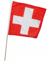Schweizer Stabfahne