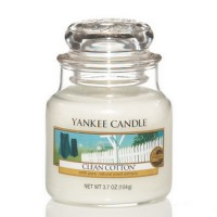 Yankee Candle Clean Cotton small Jar Housewarmer