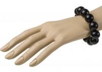 Armband 70er schwarz