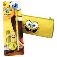SpongeBob Schreibset 3-teilig auf Blister