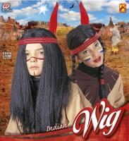 Perücke Indianer Kindergrösse