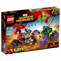 LEGO SUPER HEROES Hulk gegen Red Hulk