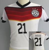 Fussballtrikot Deutschland 140cm