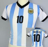 Fussballtrikot Argentinien Kind 110cm