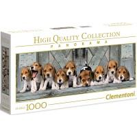 Clementoni Panorama Hunde Beagles 1000 tlg