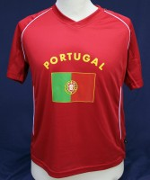 T-Shirt Portugal Kindergrösse 110cm