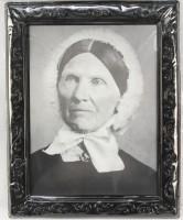3D Effektbild alte Frau
