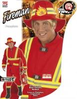 Kostüm Feuerwehrmann M