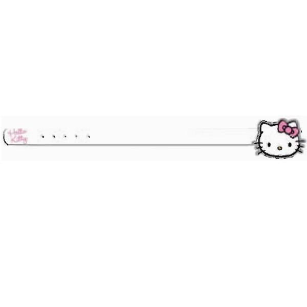 Hello Kitty Gürtel weiss
