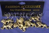 12 Löwen-Schlüsselanhänger