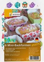 6 Mini-Backformen