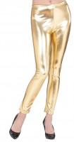 Goldene Leggings S/M