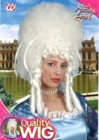 Perücke Madame Bovary weiss one Size