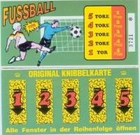 Fussballkarte