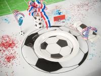 Tischset Fussball