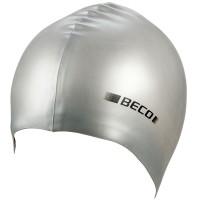 Beco Silikon-Schwimmhaube silber