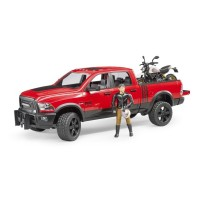 Bruder RAM 2500 Power Wagon mit Ducati