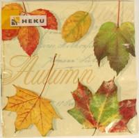 Herbstliche Servietten