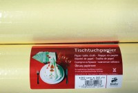 Tischtuchpapier vanille