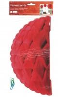 Honigwaben-Ball rot