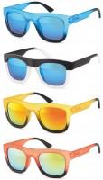 Sonnenbrille Wayfarer zweifarbig