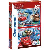 Clementoni Puzzle Cars 2, 2x20 teilig