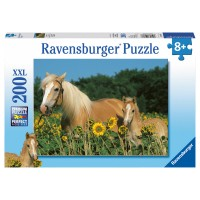 RAVENSBURGER Puzzle Pferdeglück