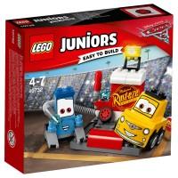 LEGO JUNIORS Guido und Luigis Pit Stopp