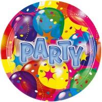 Amscan 8 Teller 23cm Ballon Party 2