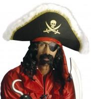 Piratenhut mit Marabu
