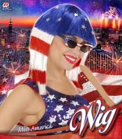 Miss Amerika Perücke