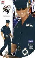 Polizistenkostüm XL