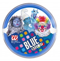 Blaues Make-Up