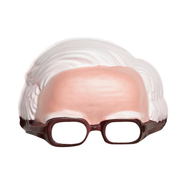 Fasnacht Maske mit weissen Haaren